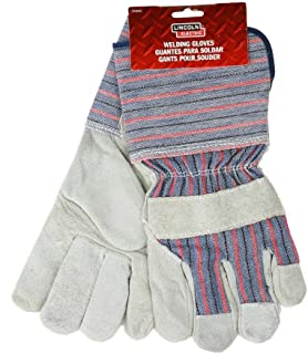 Lincoln Electric KH640 Welding Work Glove, Gray (Pack of 6)