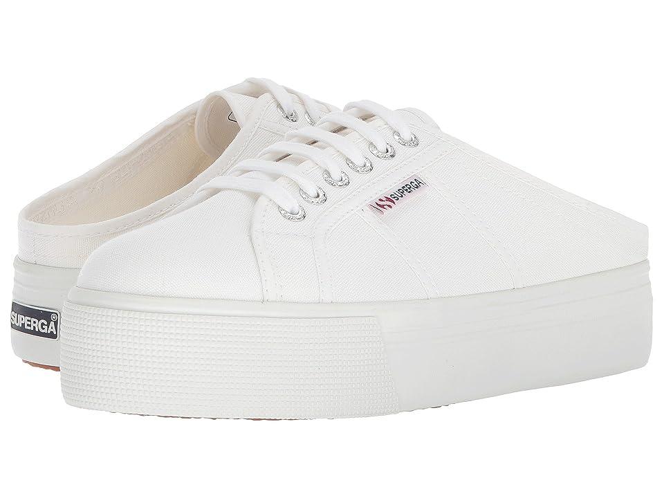 Superga 2284 Vcotw Platform Sneaker Mule (White) Women