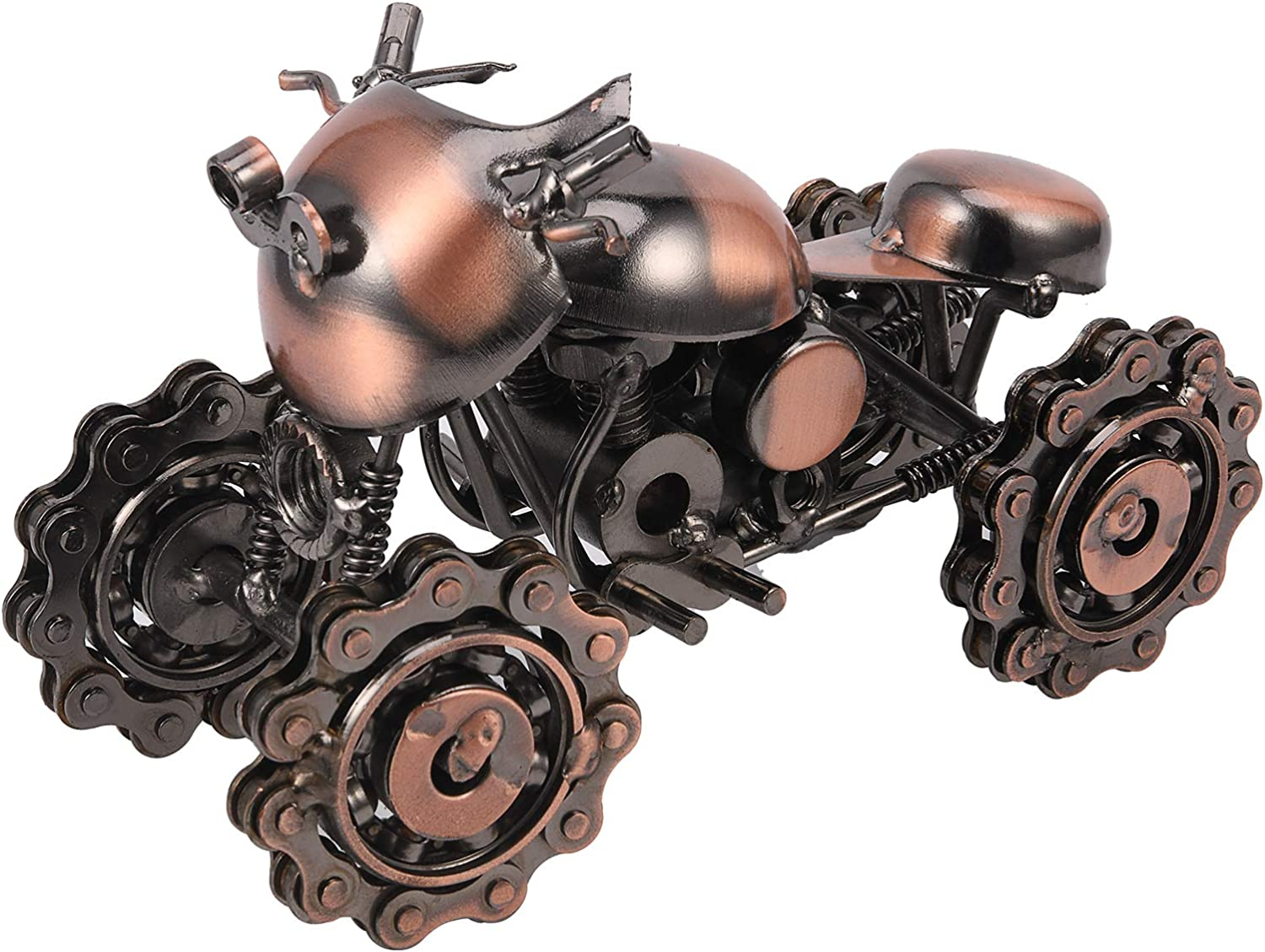 free shipping Lulonpon Vintage Today's only Iron Motorbike Mo Motorcycle Handcrafted Model