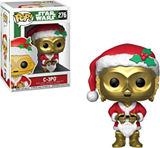 C-3PO: Star Wars Holiday x Funko POP! Vinyl Figure & 1 PET Plastic Graphical Protector Bundle [#276 / 33888 - B]