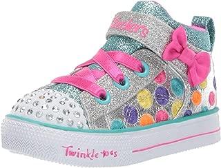 Skechers Kids' Shuffle Lite-Bounce-n-Bows Sneaker