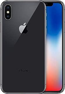 Điện thoại di động Apple – Apple iPhone X, 64GB, Space Gray – Fully Unlocked (Renewed)