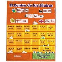 Deals on Learning Resources El Centro de las Silabas Pocket Chart