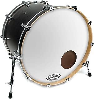Evans EQ3 Resonant Smooth White Bass Drum Head, 22 Inch - BD22RSW