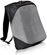 Korin Design ClickPack Pro - Anti-theft BackPack Laptop Bag with USB charging port large capacity waterproof TSA travel friendly Black and Grey