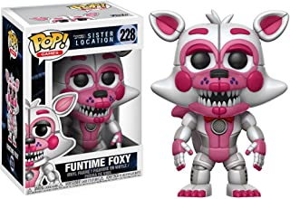 Funtime Foxy: Five Nights at Freddy's - Sister Location x Funko POP! Games Vinyl Figure & 1 POP! Compatible PET Plastic Graphical Protector Bundle [#228 / 14062 - B]