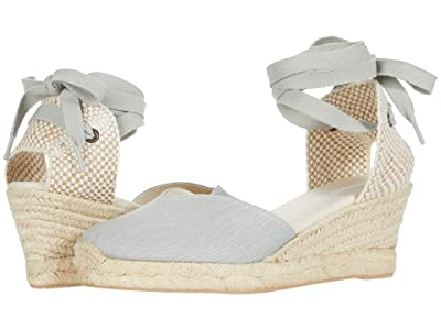 Soludos Lyon Wedge (Chambray) Women