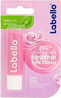LABELLO - BALSAMO LABBRA SOFT ROSE - 1 PZ