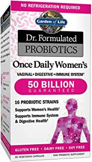 Dr. Formulated Garden of Life Probiotics Supplement for Women Unflavored, 30 Capsules