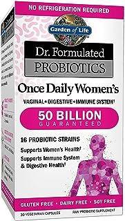 دكتور مكمل بروبيوتيكس فورميولاتد من غاردن اوف لايف للنساء، غير منكهة، 30 كبسولة