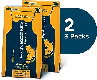 Transcend 15g Orange Glucose Gels in 3-Packs (2)