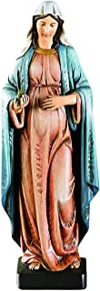mother mary pregnant statue