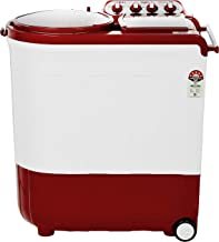Whirlpool 8 kg Semi-Automatic Top Loading Washing Machine (ACE TURBO DRY 8.0, Coral Red, 2X Drying Power)