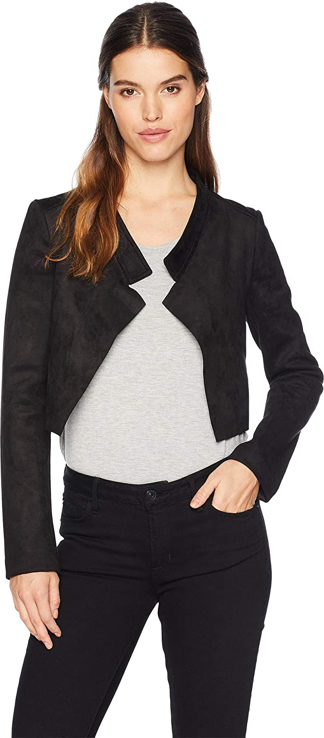 BCBGMAXAZRIA Womens Drape Back Jacket