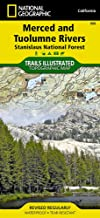 Merced and Tuolumne Rivers [Stanislaus National Forest] (National Geographic Trails Illustrated Map (808))