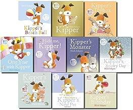 Kipper Collection 10 Books Set in a Bag Children Gift Pack (Kippers Birthday, Kippers Beach Ball, Hide Me Kipper, Kipper's New Pet, One Year With Kipper, Toy Box, Snowy Day, Little Friends, Monster)
