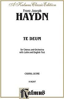 Te Deum Laudamus: Orch.