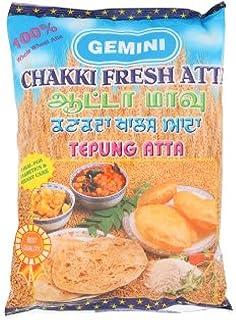 Gemini Chakki Fresh Atta 900g (628MART) (3 Packs)