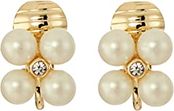 LAUREN Ralph Lauren - Two Dozen Roses Mini Cluster Clip Earrings
