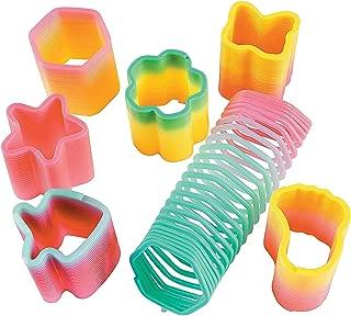 Fun Express - Rainbow Mini Magic Spring Asst (50pc) - Toys - Assortments - 50Pc Assortments - 50 Pieces