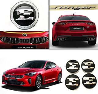 KIA Stinger Genuine OEM Front & Rear Emblem/18