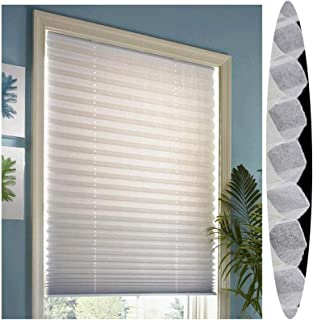 Pleated Honeycomb Pleated Daylight Honeycomb Pleated With , Antifouling Easy To Clean Insulation Light Filtering Bedroom, ...
