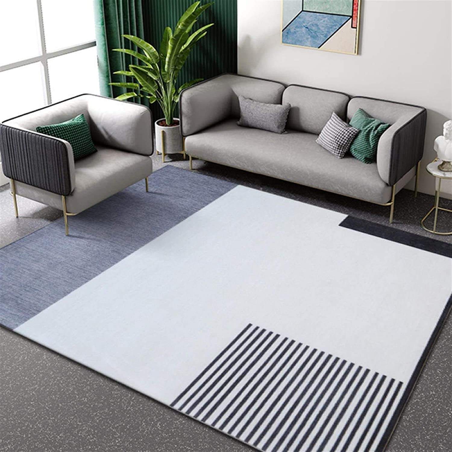 WJCRYPD Super Sale Special SALE held Carpet Living Room Sofa Coffee Mat Floor Table Be