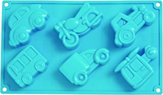 Pavoni Platinum Silicone Move On Multi-Tray Bake Mould, Blue