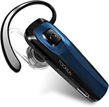TOORUN M26 Bluetooth Headset with Noise Cancelling-Blue