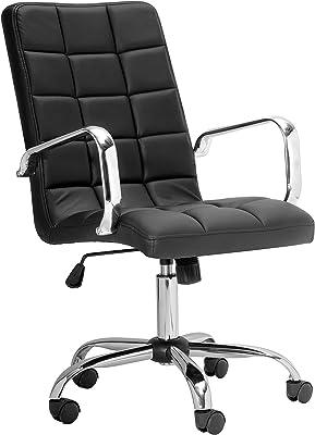 Uptown Club Office Chair, Black