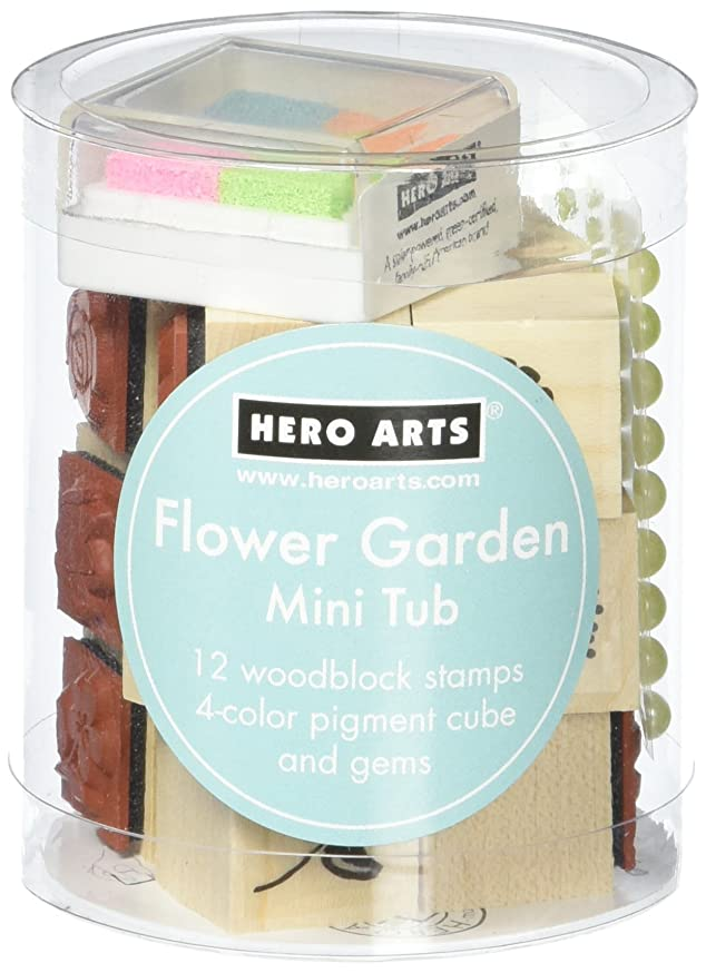 Hero Arts Flower Garden Mini Tub