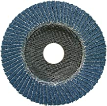 DeWalt 155mm FLAP DISC - TYPE 29 ANGLED - D115XG60 grinding and finishing in one step, Yellow/Black, DT3256-QZ