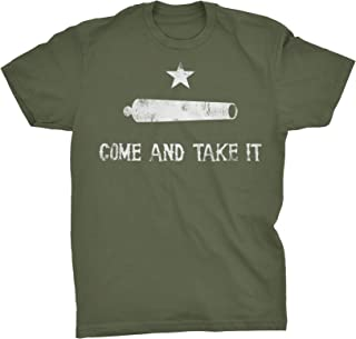 ShirtInvaders Come and Take It - Cannon - 2nd Amendment 3 Percenter - T-Shirt