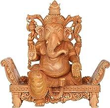 Ashirwad Ganesha - Wood Statue