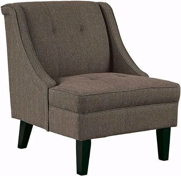 Ashley Furniture Signature Design Clarinda Accent Chair Wingback Modern Gray