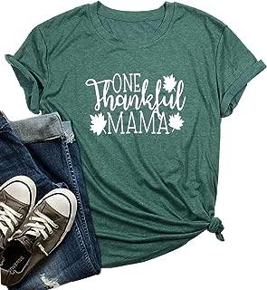 thankful mom shirt