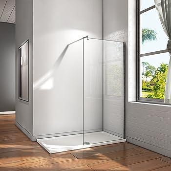 Panel fijo para ducha_PdM_TRANSPARENTE (90cm.): Amazon.es ...