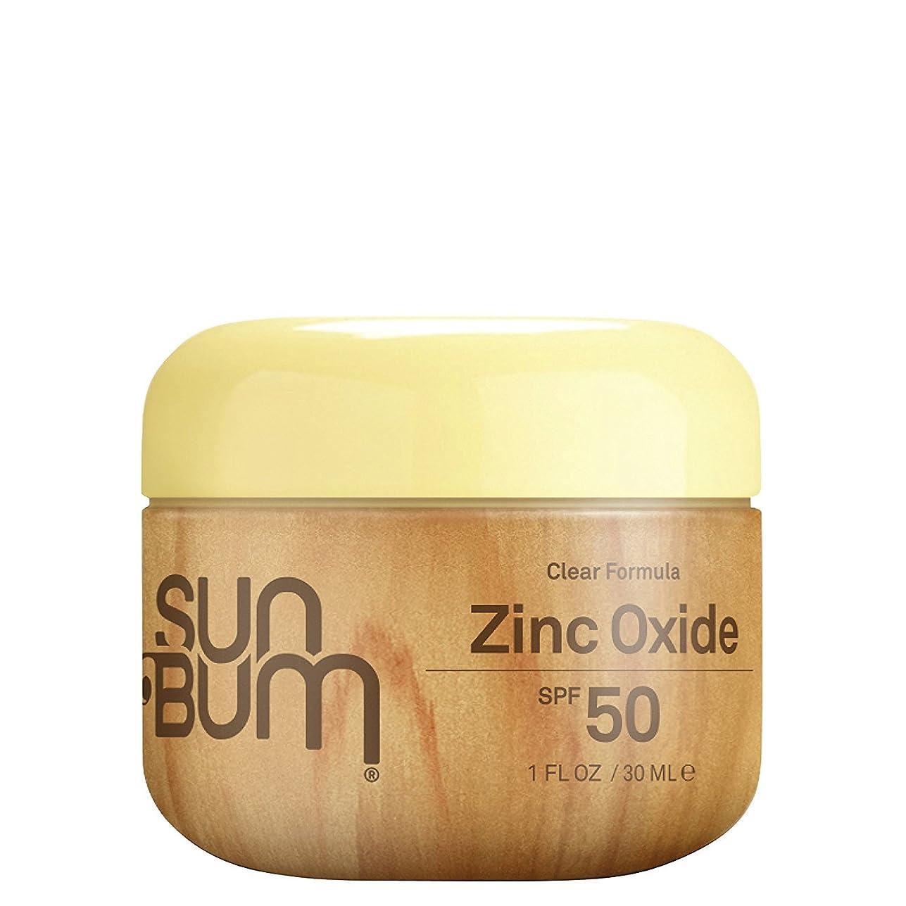 バズバルーン特異性Sun Bum SPF 50?Sunscreenクリア酸化亜鉛ローション