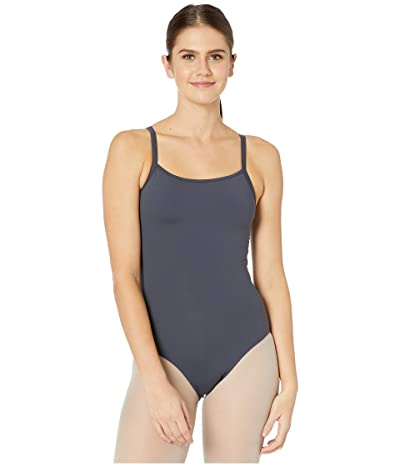 Bloch Mesh Back Camisole Leotard (Pewter) Women