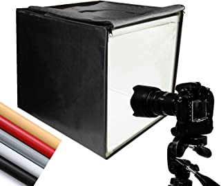 Finnhomy Professional Portable Photo Studio Photo Light Studio Photo Tent Light Box Table Top Photography Shooting Tent Box Lighting Kit, 16