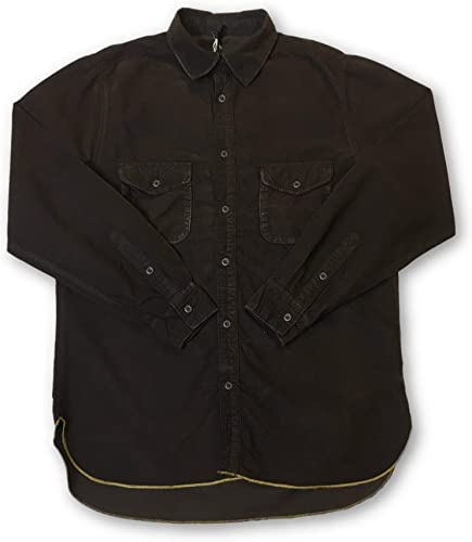 Agave Lux Channin Shirt in marron - M