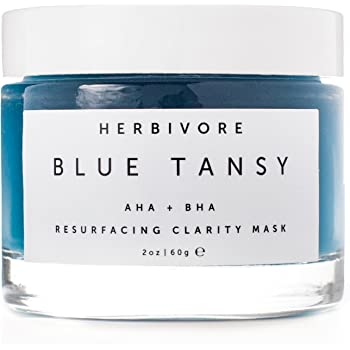 Herbivore - Natural Blue Tansy Invisible Pores Resurfacing Clarity Mask | Truly Natural, Non-Toxic, Clean Beauty