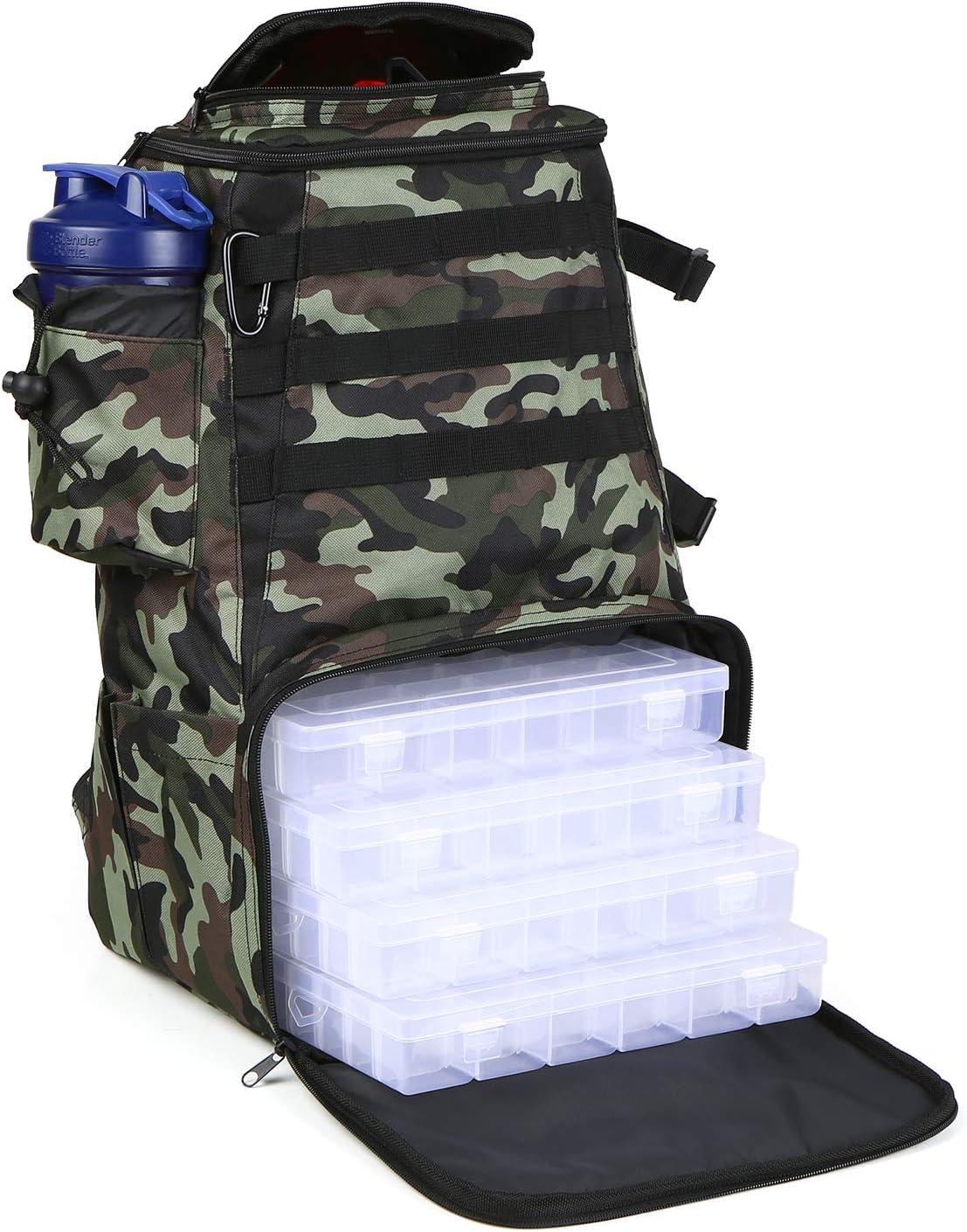 Lixada Fishing 70% OFF Outlet Tackle Multifunctional Ut Backpack Max 73% OFF