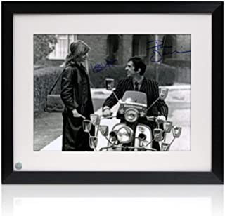 Phil Daniels And Leslie Ash Signed Quadrophenia Photo: Jimmy And Steph. Framed
