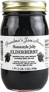 Homestyle Elderberry Jelly - One Pint - Grandma's Jam House