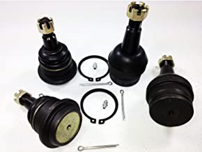 PartsW 4 Pc Suspension Kit for Dodge Ram 1500 1994-1999 RWD Models/Upper & Lower Ball Joints