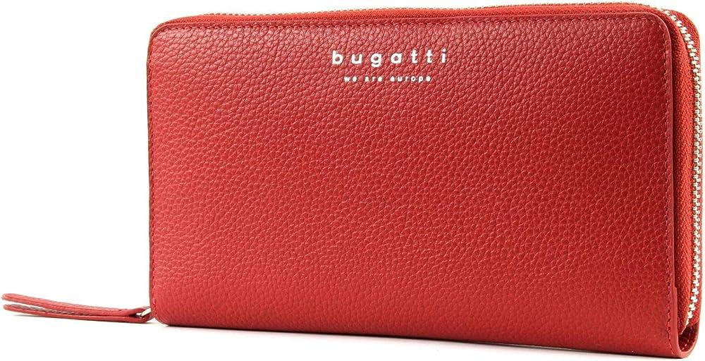 Bugatti linda portafoglio da donna grande in pelle porta carte di credito 49367816