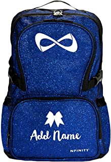 pink nfinity cheer backpack