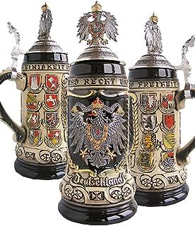 Zöller & Born German Beer Stein German with state coat of Arms Stein 0.5 liter tankard, beer mug ZO 1425/9009