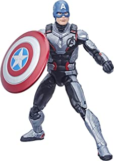 "Hasbro Marvel Legends Series Avengers: Endgame 6"" Captain America Marvel Cinematic Universe Collectible Fan Figure"